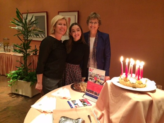 Carolyn, Stacey of LILA and Frances celebrate LILA's 10 birthday.jpeg