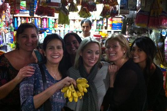 Lima Market Shopping