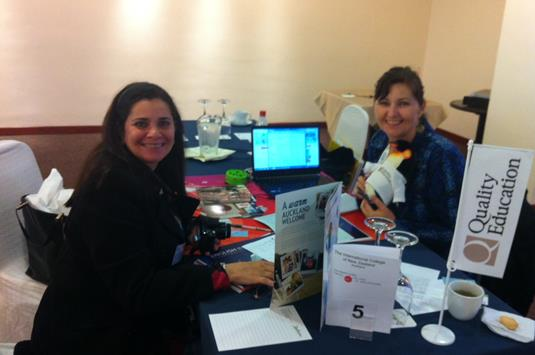 4 Lesley Brough ITC and Carmen Jaramillo of Representaciones Academicas