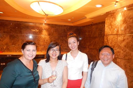 Lesley Brough of ITC NZ, Duc Tuyen Bui of Tinphu International, Anh Dao Nguyen of Tinphu Int. and Hoang Son Vu of New Century.JPG (1)