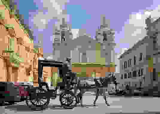 Mdina horse and carriage