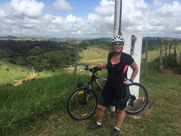 Brazil on 2 wheels for charity