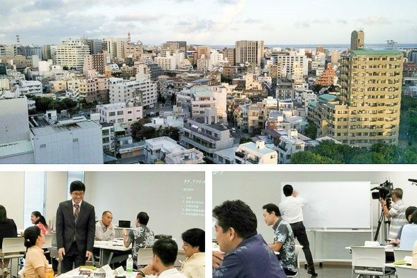 ITC tutor delivers exclusive workshop in Okinawa, Japan