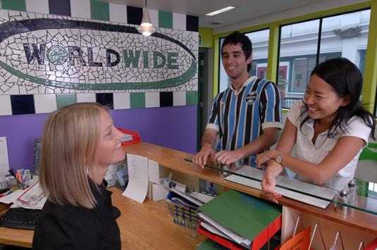 Reception at Worldwide School of English