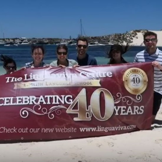 A look at The Linguaviva Centre's 40th anniversary celebrations...in Australia