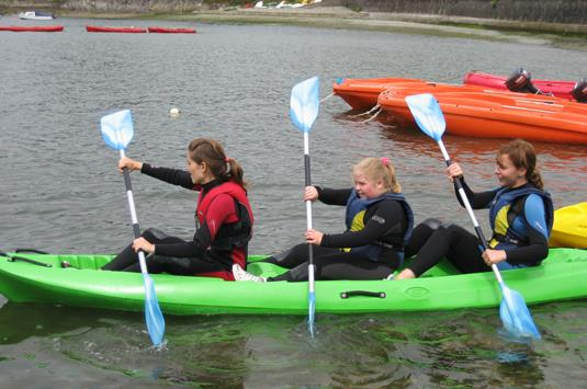 Junior Girls On The Water