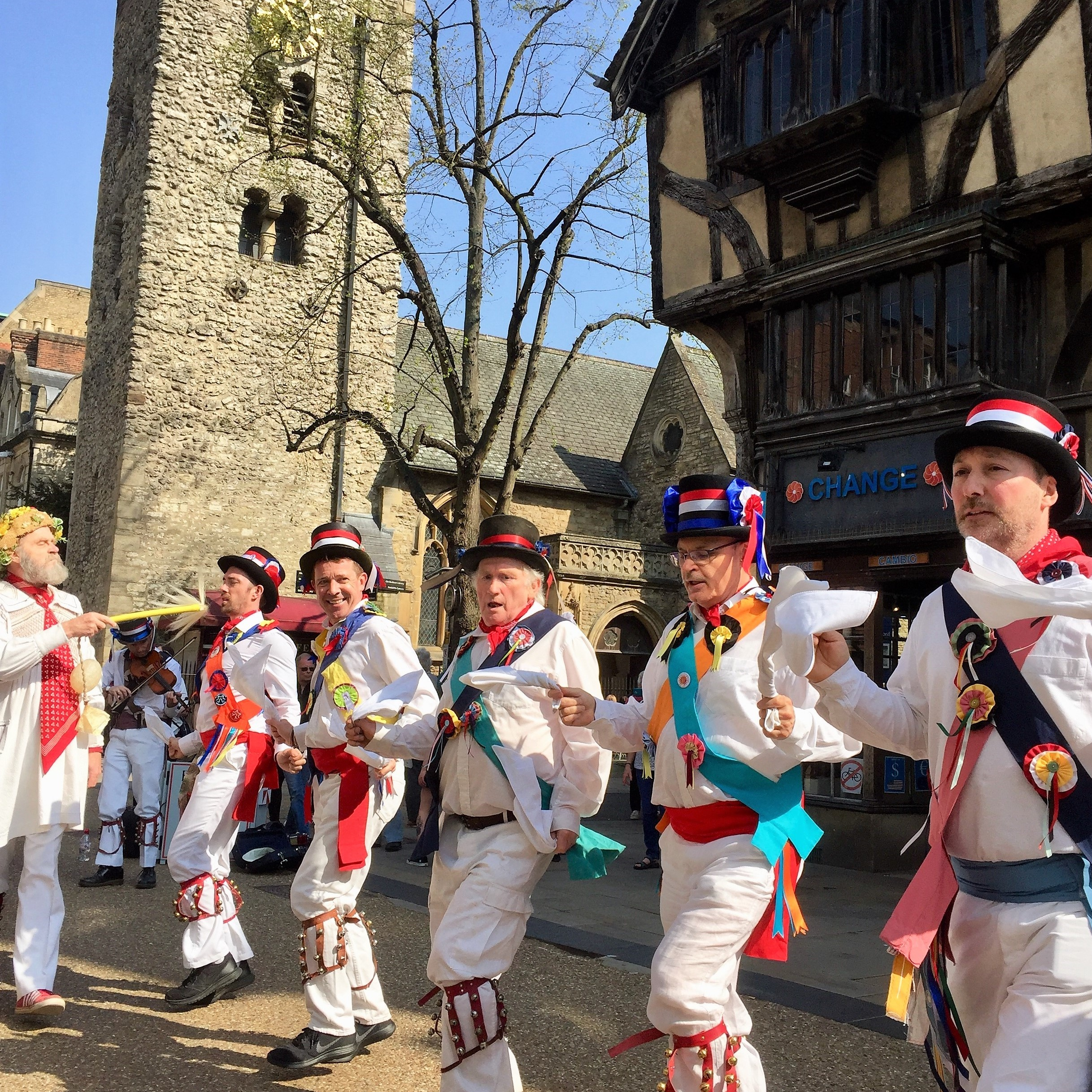 Oxford - May Morning and Morris Dancing