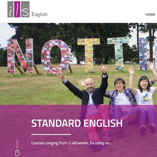 ILS English launch new website
