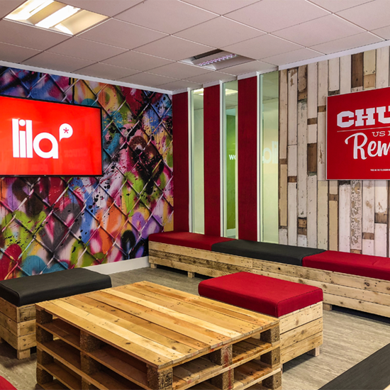LILA* opens their brand new student social area - 'Strawberry Fields'