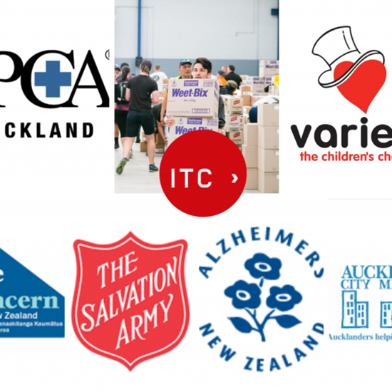 The International Travel College of New Zealand generously donates to several charities
