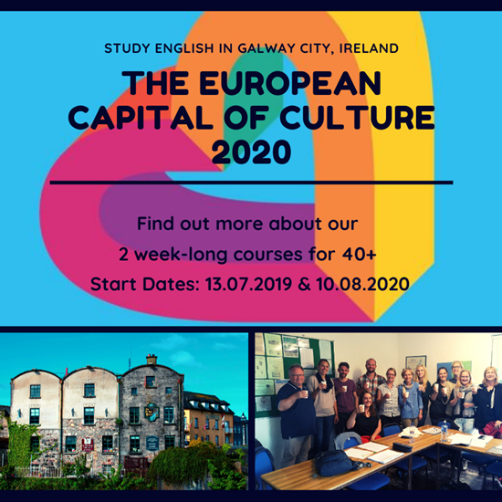Galway Language Centre offers new 40s + Course from summer 2020