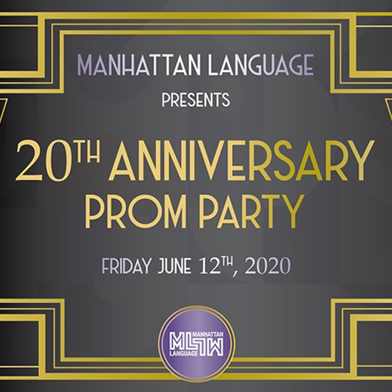 Manhattan Language celebrates its 20th Anniversary