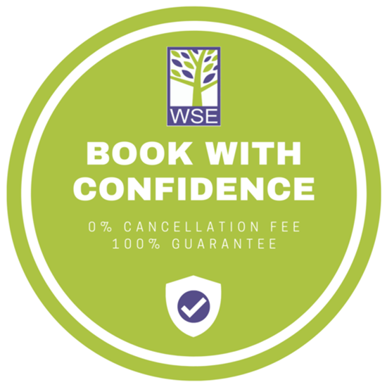 Wimbledon School of English launch 'Book with Confidence' campaign