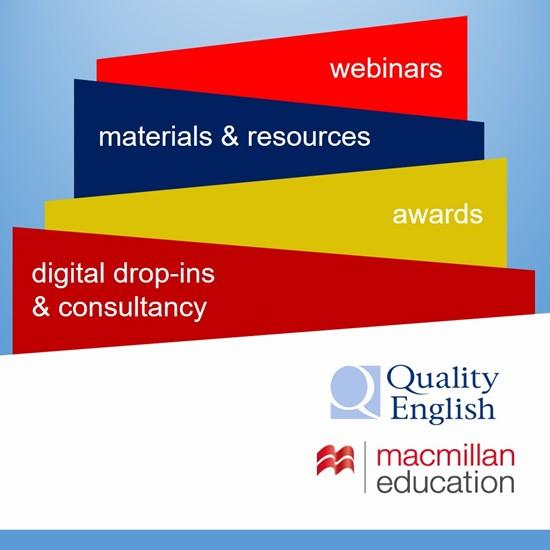 Quality English Digital Awards sponsored by Macmillan Education