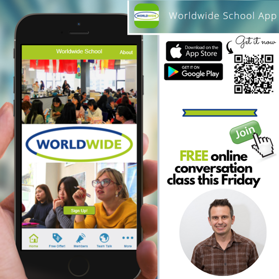 Worldwide School of English introduces own app
